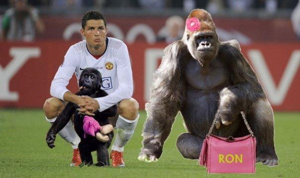 Gambar Dp Bbm Lucu Dan Unik Ronaldo Terbaru
