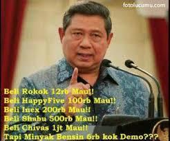 Foto Lucu SBY