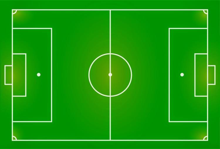 Gambar Dan Ukuran Lapangan Sepak Bola Sesuai Aturan Fifa