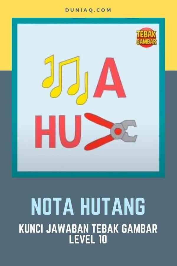 NOTA HUTANG