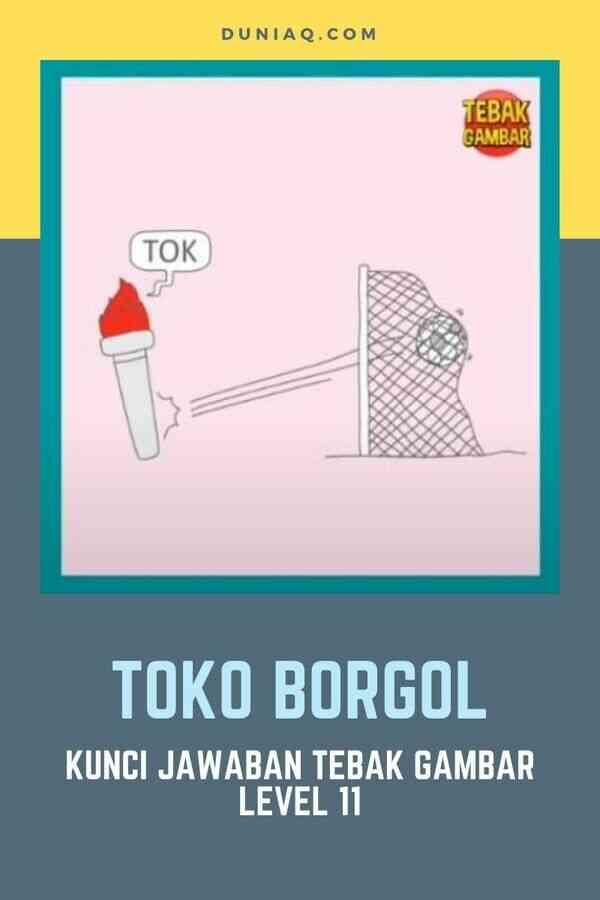 Level 11 TOKO BORGOL