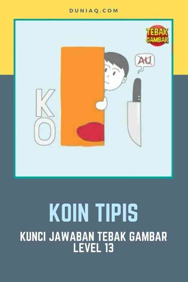 Kunci Jawaban Tebak Gambar Level 13 KOIN TIPIS