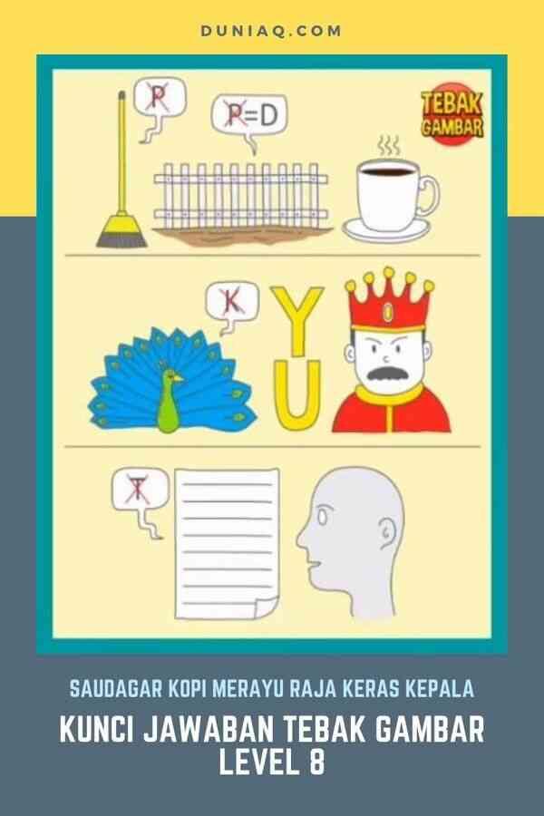 Kunci Jawaban Tebak Gambar Level 8 Lengkap Ragam Informasi