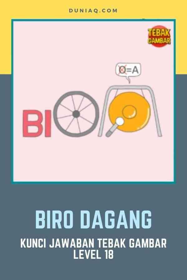 LEVEL 18 BIRO DAGANG