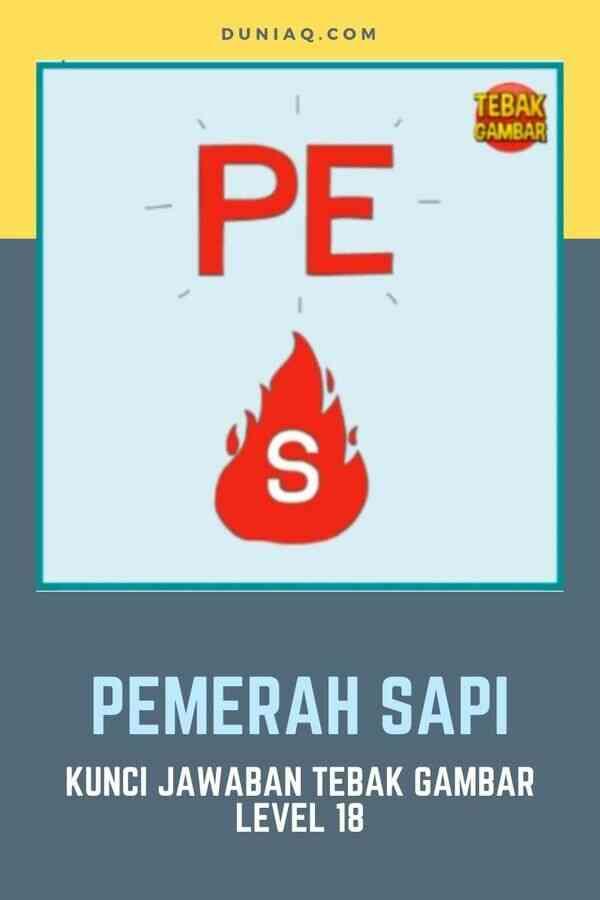 LEVEL 18 PEMERAH SAPI