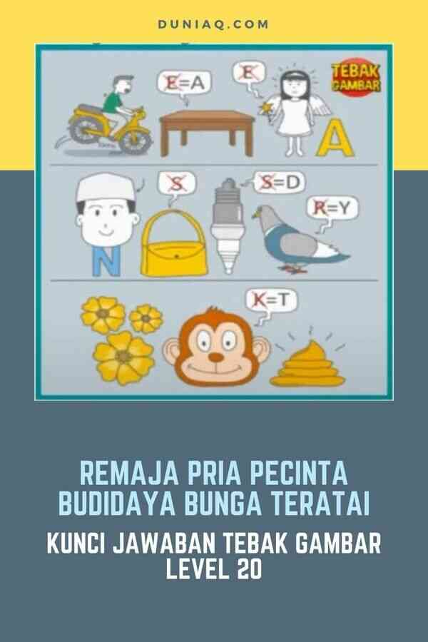 LEVEL 20 REMAJA PRIA PECINTA BUDIDAYA BUNGA TERATAI