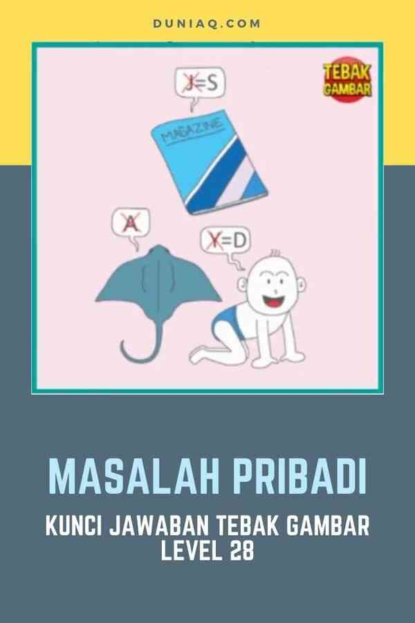 LEVEL 28 MASALAH PRIBADI