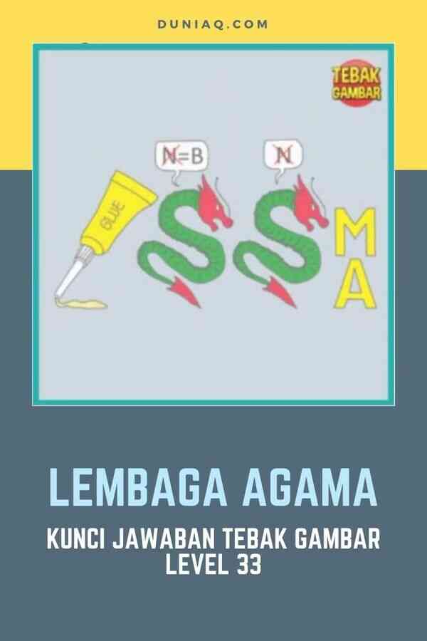 LEVEL 33 LEMBAGA AGAMA
